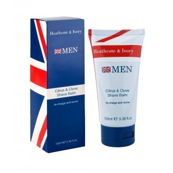 Men's Citrus & Clove Aftershave Balm 100ml - £4. Citrus & Clove: Aftershave Balm Perfect shaving balm to soothe the skin after shaving. Infused with an aromatic blend and enriched with Sweet Almond Oil to lock in moisture after the perfect shave leaving skin feeling clean, smooth and revived. #Father's #Day #HeathcoteIvory