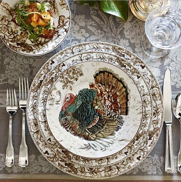 Williams Sonoma turkey plates