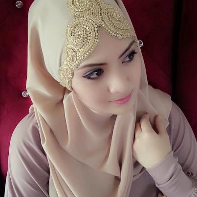 Bridal hijab designs – Hijab styles for Muslim brides