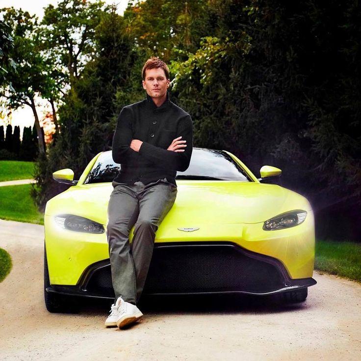 Tom Brady and the Aston Martin Vantage