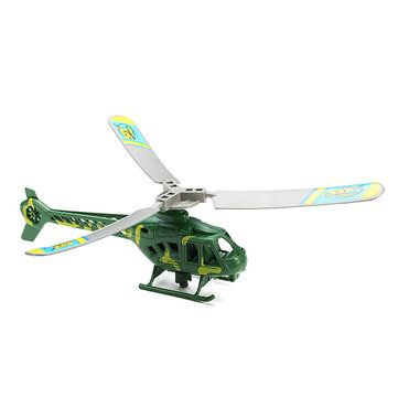 Rip cord Launch Pull launcher Action Helicopter Toy Sale - Banggood.com