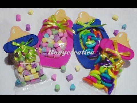 MAMILA ó BIBERON DULCERO - Baby Shower Souvenir DIY / Ronycreativa - YouTube
