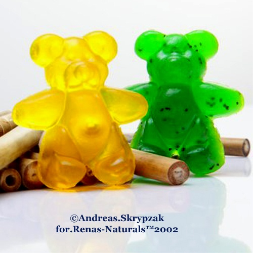 Berlin Bears in various varieties  ©Renas-Naturals™2002  Berliner Bären Seife in diversen Sorten  3.99 Euro