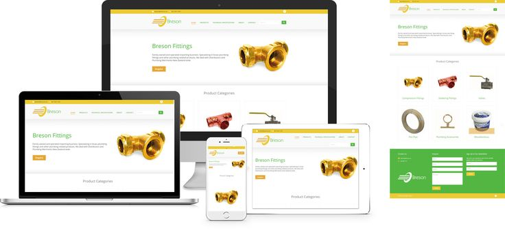 Breson Fittings - website design by Forge Online http://www.forgeonline.co.nz/google-adwords/
