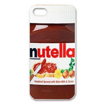 My Case Store Funny Jar of joy-Nutella Apple iPhone 5: Amazon.co.uk: Electronics