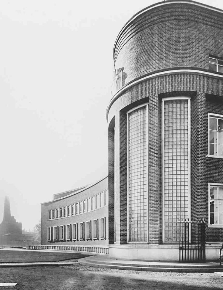 Water-Testing Laboratory in 1938. John Murray Easton, architect, 1936–8