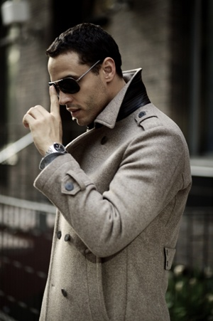 Wool & Leather  - worn by Actor Daniel Sunjata