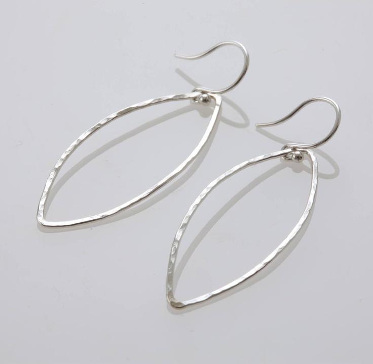 Mirisa/Silver Leaf ピアス 8820yen 葉っぱをイメージした透明感溢れるピアス