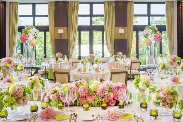 結婚式場写真「和の優美さとモダンな雰囲気が融合したパーティー会場『ローマン』」 【みんなのウェディング】