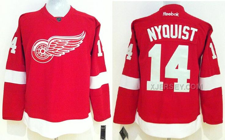 http://www.xjersey.com/red-wings-14-nyquist-red-jerseys.html RED WINGS 14 NYQUIST RED JERSEYS Only $50.00 , Free Shipping!