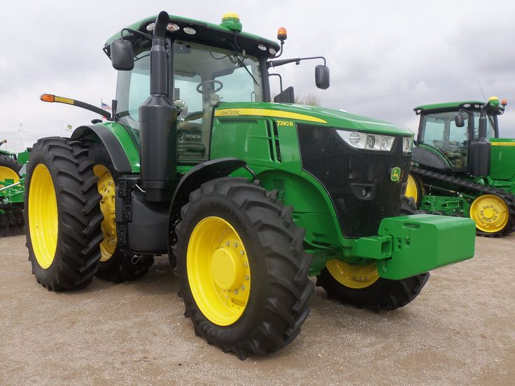 new john deere 7290r tractor john deere equipment pinterest tractor and john deere equipment. Black Bedroom Furniture Sets. Home Design Ideas