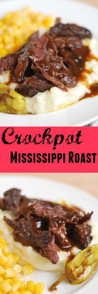 Crockpot Mississippi Roast