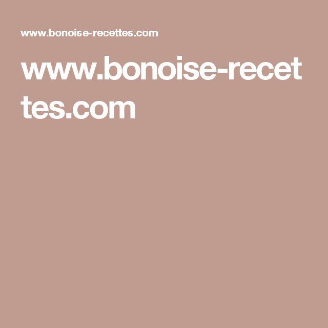 www.bonoise-recettes.com