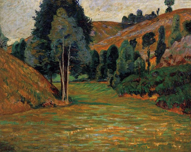 Small Valley at Pontgibaud 1890 | Armand Guillaumin | oil painting
