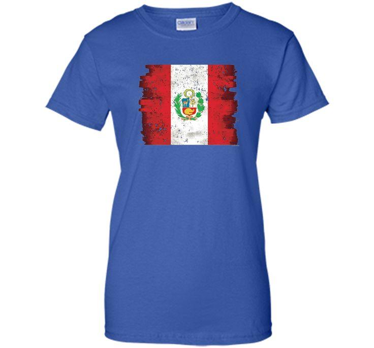 Peru Flag Shirt Flag Of Peru Shirt Gift shirt