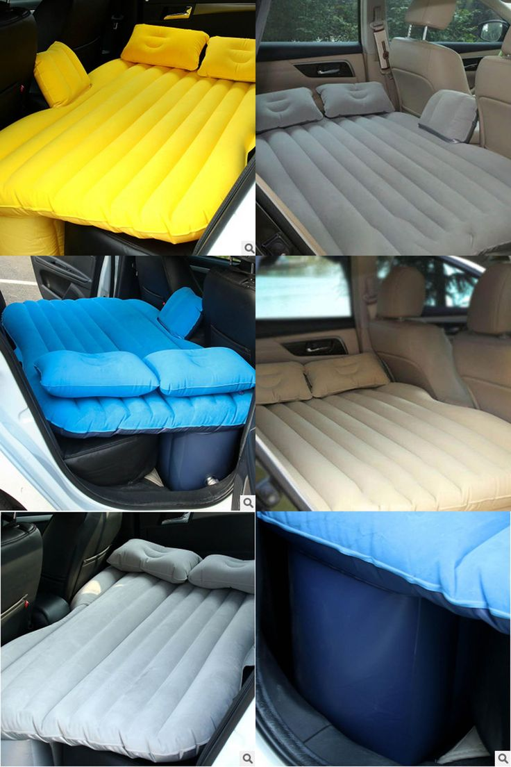 Backseat Inflatable Bed Best 25 Inflatable Car Bed Ideas Only On Pinterest Best