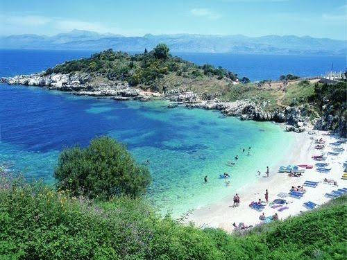 Corfu - Lucy's always wanted to go to the Greek Islands..