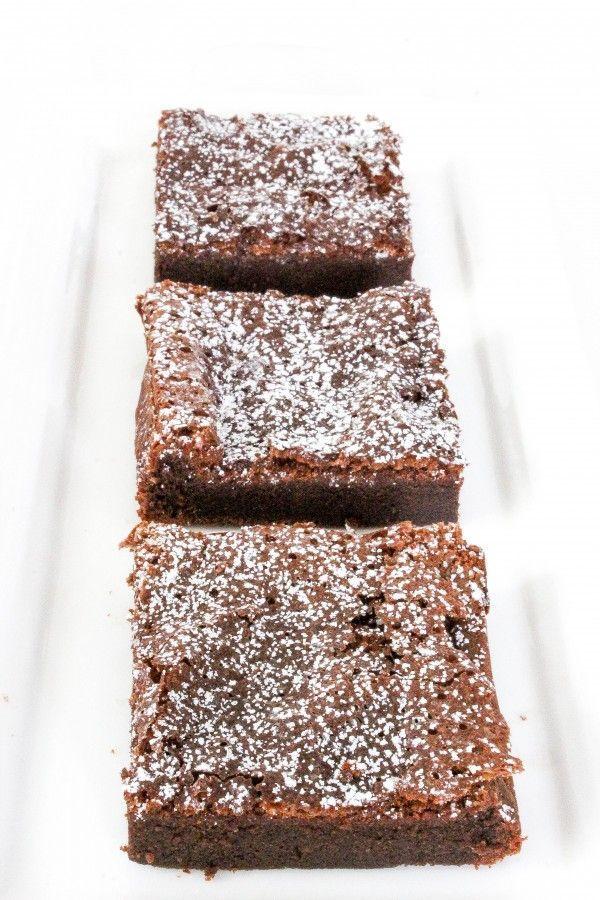 Nutella Brownies (2 Ingredients!)