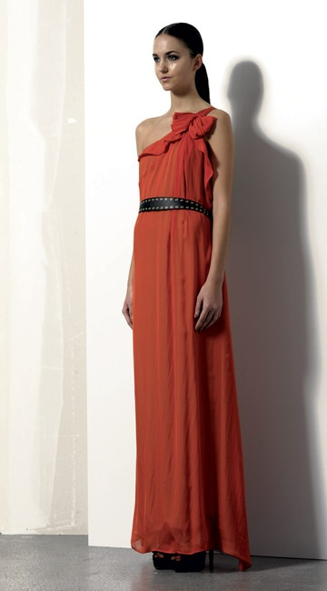 Look 12 . 361 Abito / Dress . 216P Scarpa / Shoes