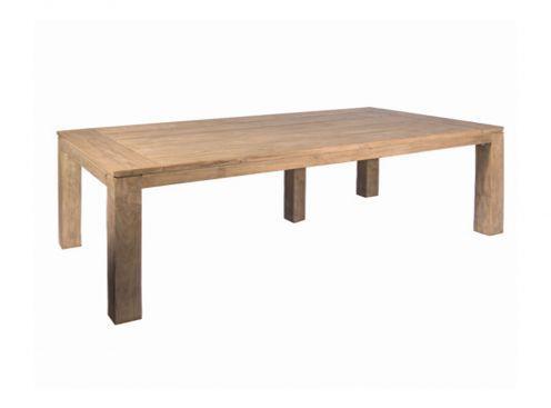 Table de repas en Teck Castle Line, modèle Luke 300.