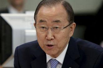 Ban Ki-Moon lays wreath at scene of bomb blast at UN House, Abuja (photo)