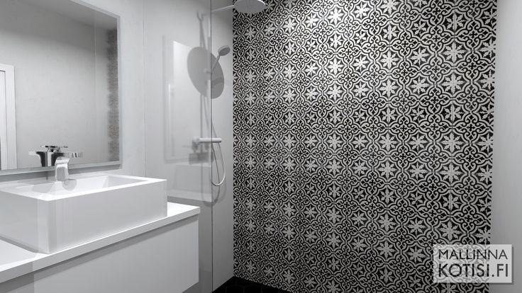 Kylpyhuoneen 3D-mallinnus remonttia varten
