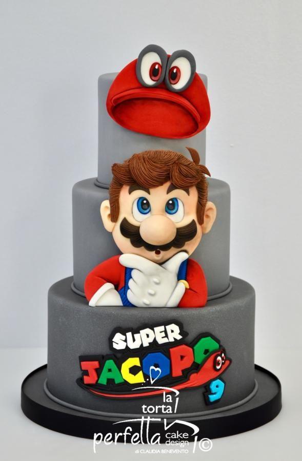 Super Mario Bros - cake by La torta perfetta
