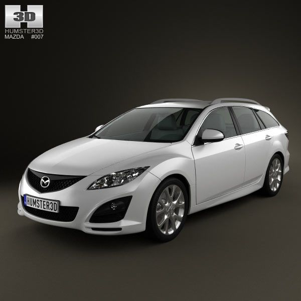 Mazda 6 Wagon 2011 3d model from humster3d.com. I like this but essentially we need this