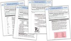 Edit du 08/05/15 : Ajout des documents suivants : Trois séquences supplémentaires, offertes par AM71. Merci à elle ! Suivez l'icône Après mes rituels de CM2 (ici) et ceux de Fonch pour des CM (ici), voici à présent les rituels pour le CE2, commencés par bzh91. Ils sont tirés du moniteur de lecture niveau 2. …