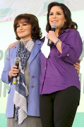 Angélica María y Angélica Vale son tan unidas como dos hermanas.