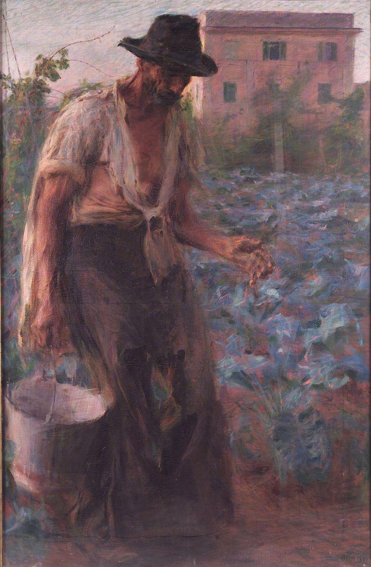 Giacomo Balla - Il contadino