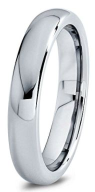 Men's Wedding Band ~ Tungsten Silver Grey Domed Polished  ~ All Sizes ~ Only $47.77 on Amazon! Wedding Rings, Women's Wedding Bands, Bridal Fashion, Venue & Reception Decor, Honeymoon, Travel, Gifts for the couple, Gifts for the Bride, Handmade Jewelry, Rings, Bands, Wedding Rings, Engagement Rings, Unique Wedding Ideas, Outdoor Weddings, Wedding Ideas #gift #justmarried #wedding #engagement #honeymoon #love #jewelry #weddingideas