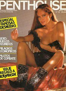 a penthouse magazine 134 april 1989 spanish edition
