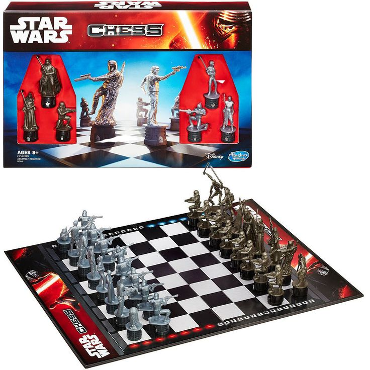 Star Wars The Force Awakens Chess Game