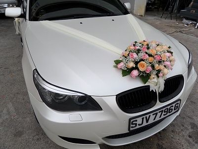 wedding car decoration mercedes - Recherche Google