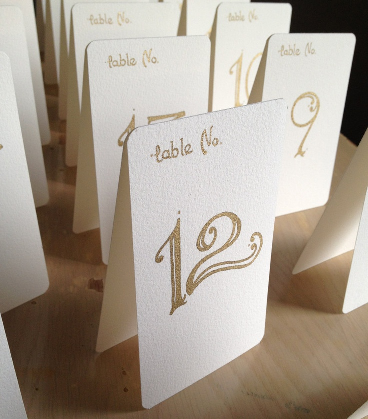 Wedding Table Number Tents - Handwritten Tented Table Number Calligraphy Cards - Gold Metallic ink. & 13 best tent cards images on Pinterest | Tent cards Decorating ...