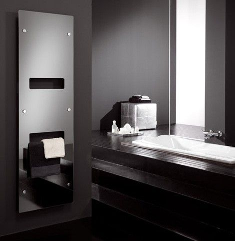 A smart idea for your bathroom, the Image Line radiator of Calor Delta has a fully reflective surface. A useful addition to your bathroom, can not avoid any type of device, from minimalist transitional measures, as the color and pattern around the mirror! Slim and discreet, but can also be used as a towel warmer … You can choose from a range of attractive options to keep towels toasty. You can also choose to have a thermostat installed independently from your central heating, so the cooler…