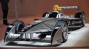 Mobil Formula E Pertama Dipamerkan di Las Vegas