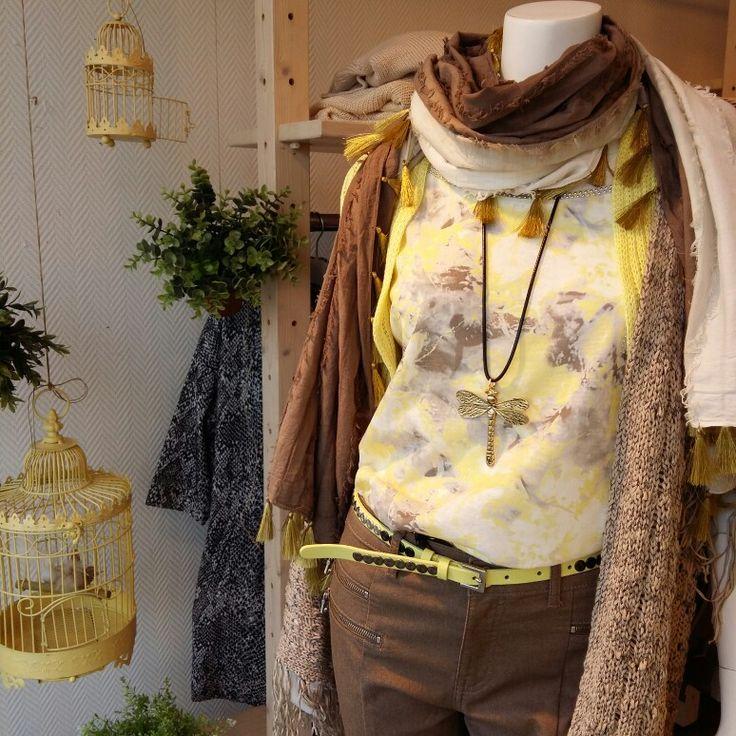 Sunny window shop