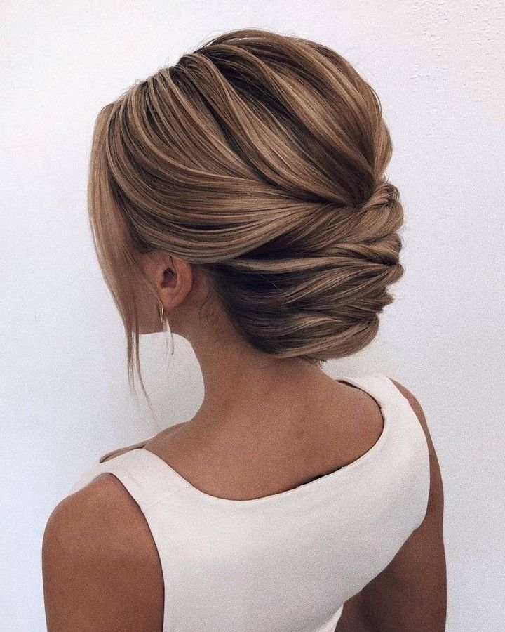 Professional Business Look Vs Romantic Evening Or Both Either Way We L Ve It Oksana S Hair Styles Wedding Hair Inspiration Updos For Medium Length Hair