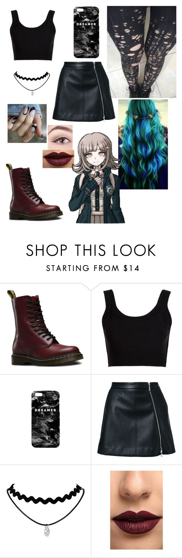 """""""🌙"""" by angelluvsluke ❤ liked on Polyvore featuring Dr. Martens, Calvin Klein Collection, Mr. Gugu & Miss Go, Guild Prime and LASplash"""