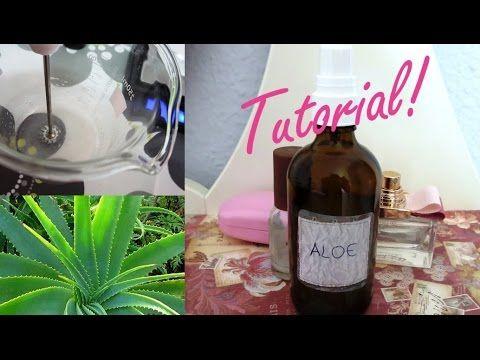 Come preparare il gel di aloe vera fatto in casa - Tutorial - YouTube