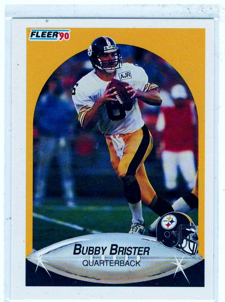 Sports Cards 1990 Fleer Bubby Brister