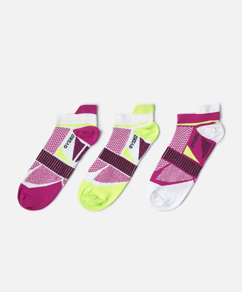 Pack of 3 pairs of technical socks