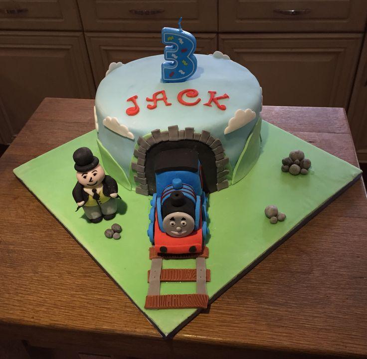 Thomas the Tank cake for Jack's 3rd birthday