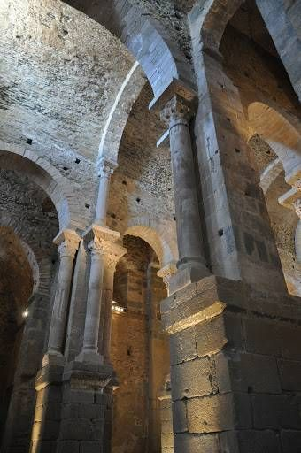 Monasteri de Sant Pere de Rodes, El Port de la Selva, Alt Empordà, Girona, Catalonia | Europe