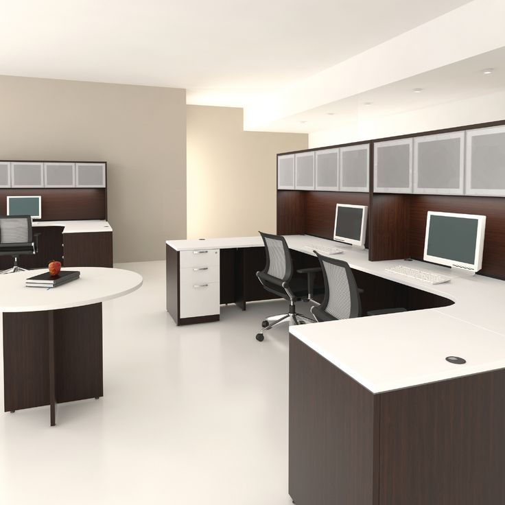 Elegant Workstation And Desk Combination Systems Allow You To Create Your Ideal  Landscape. The Options Are Ideas
