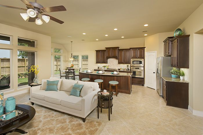 PerryHomes - #Kitchen - #Design 2784W | Gorgeous Kitchens By Perry ...