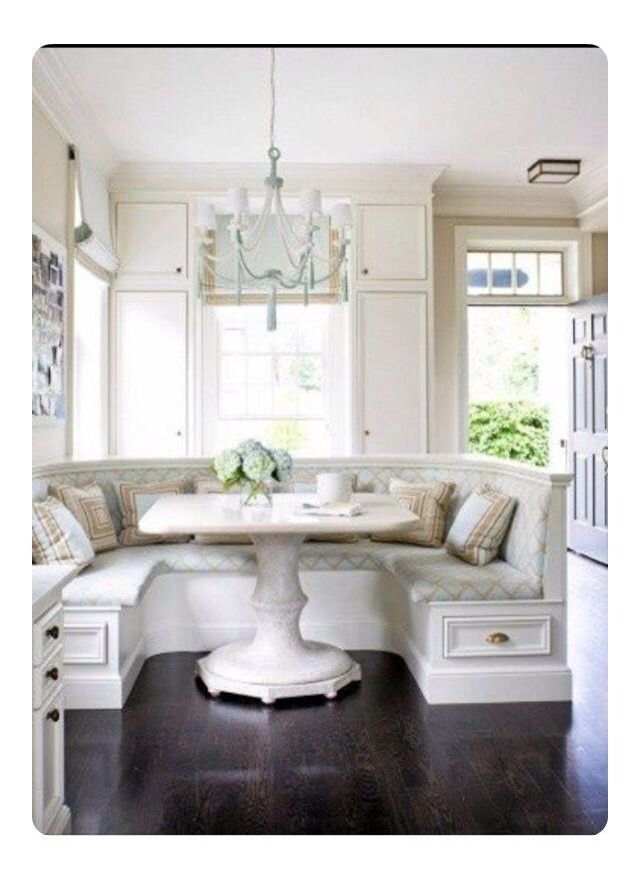 Kitchen Nook Great Built In Seating I Want This My Separate From Formal Dining Room