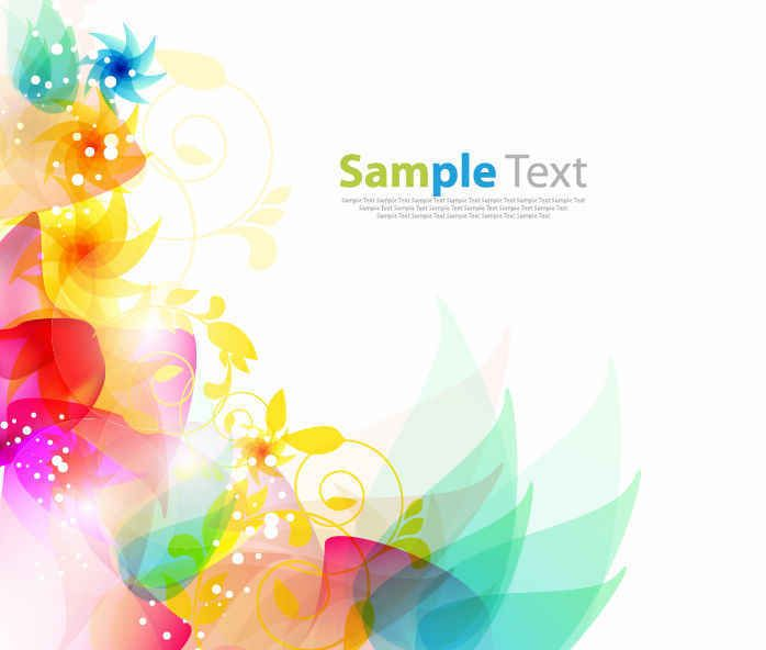 Free Floral Abstract Background Abstract Floral Abstract Backgrounds Vector Free